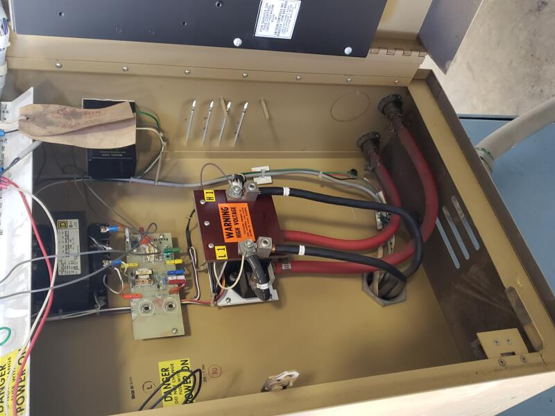 Precision Welder & FlexoPress Corp  75 KVA Spot Welder