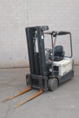 AM20138 - Crown SC4540-35 Forklift with Cascade Sideshift
