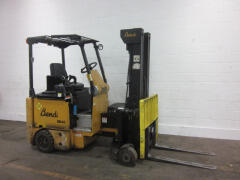 FA10050/AM10526 - 4,000 lb Landoll/Bendi Electric Multi-Purpose Articulated Industrial Forklift